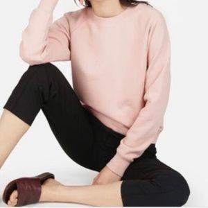 Everlane Light Pink French Terry Sweatshirt